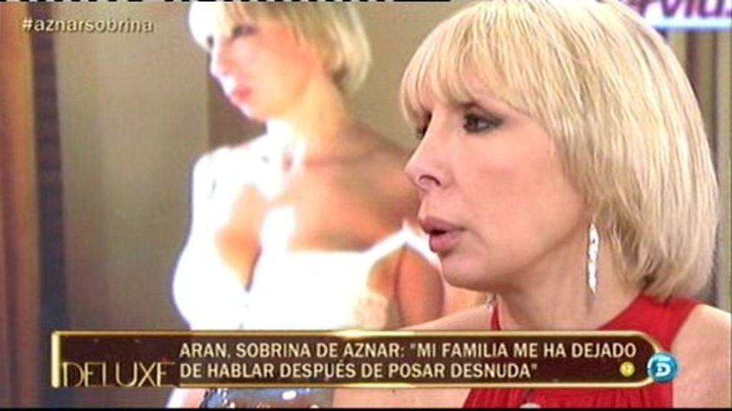 """Aran Aznar: """"Mi madre se enteró por El Deluxe de la portada de Interviú"""""""