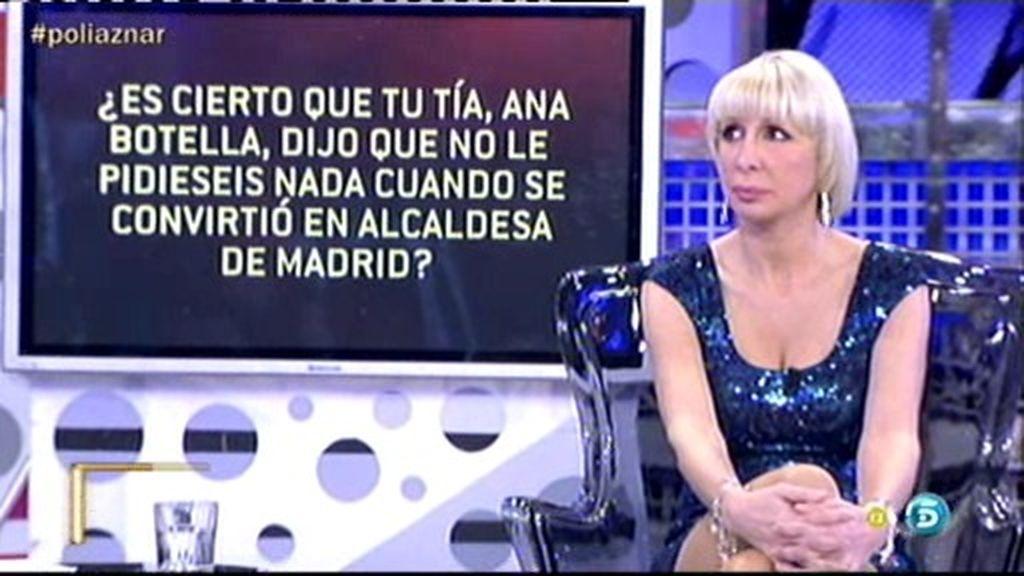 Ana Botella les dijo que no le pidiesen nada al llegar a la alcaldía