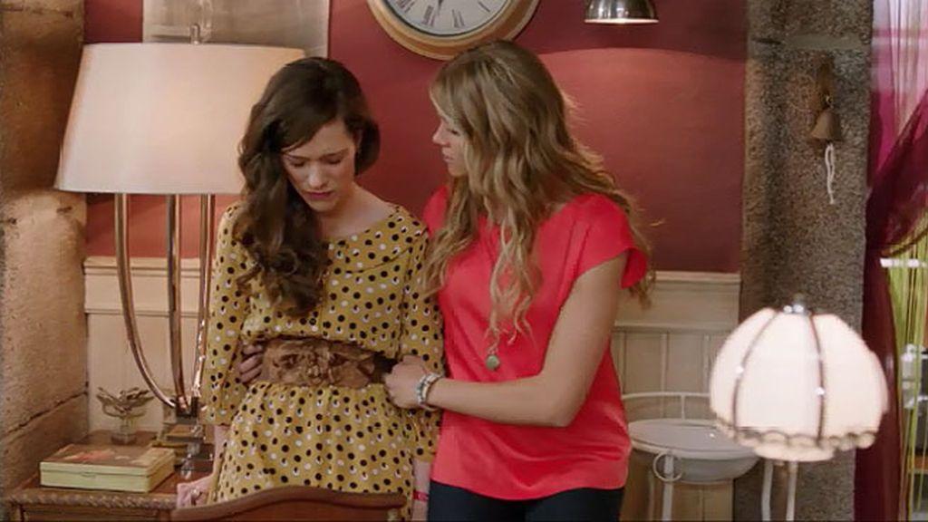 Andrea confiesa a Edu que le ha engañado
