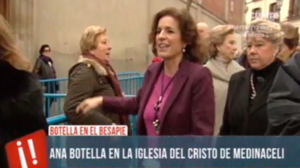 "Boro, a Ana Botella: ""¿Ha venido a rezar usted por su sobrina, señora alcaldesa?"""