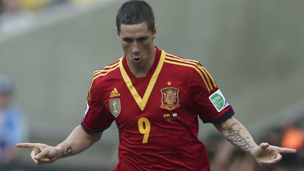 Gol: España 9-0 Tahití (Min.78)