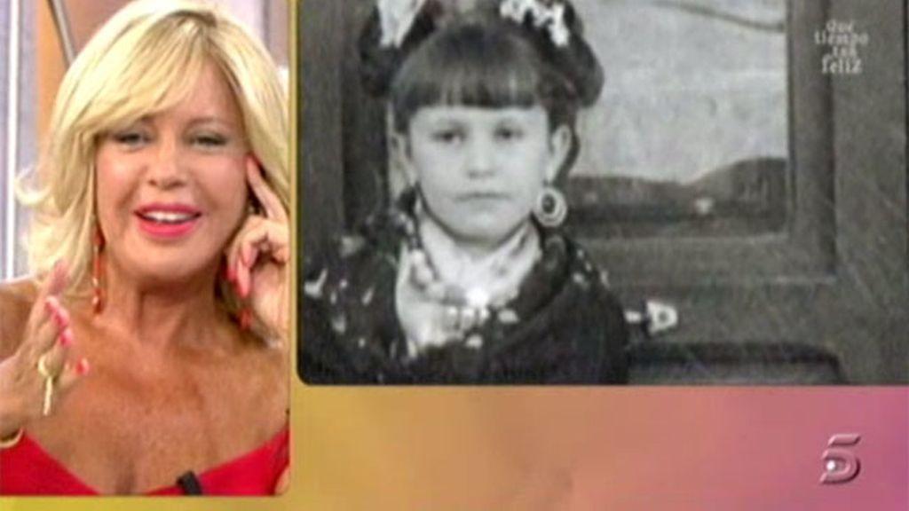 Recordamos la infancia de Bárbara