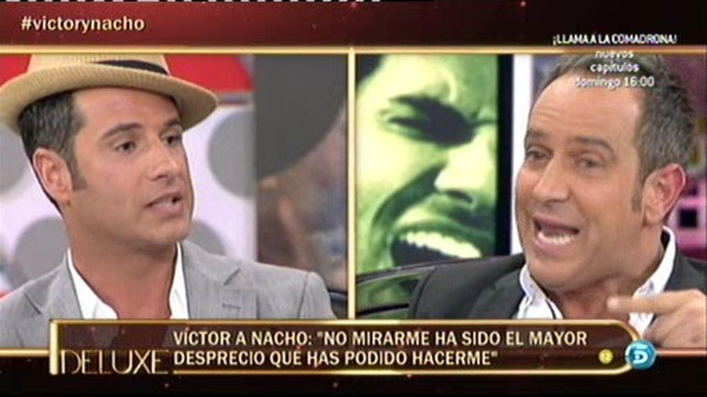 """Víctor Sandoval: """"Si Nacho se acerca a mí me derrumbo, porque me lo como a besos"""""""