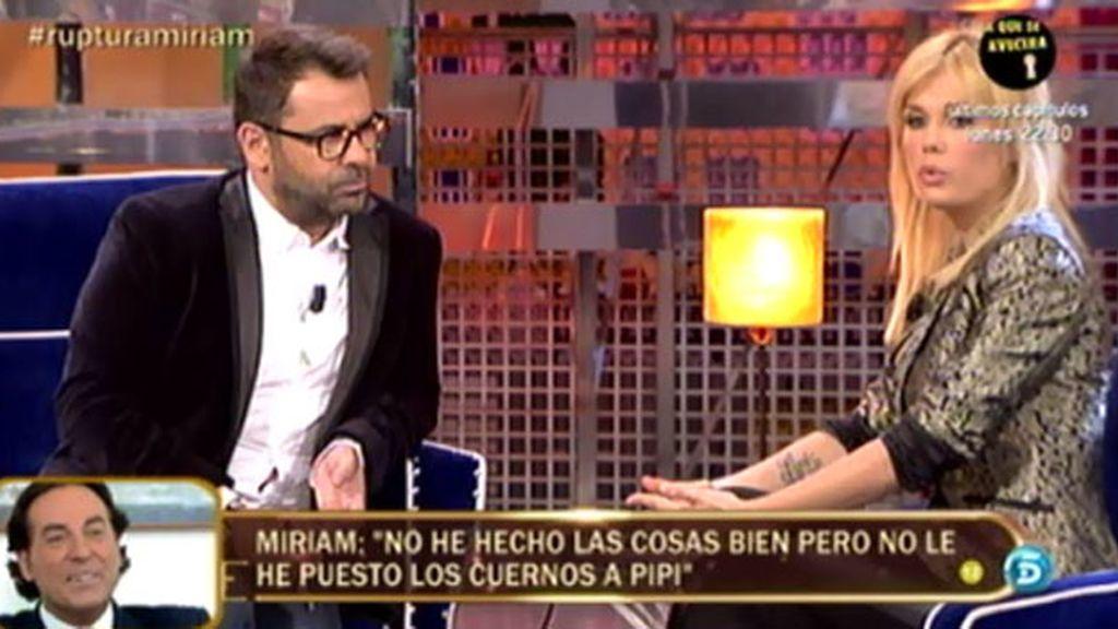 """Miriam Sánchez: """"Pipi es adicto al sexo"""""""