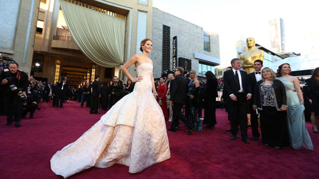 Glamour descafeinado en la alfombra roja de los Oscar