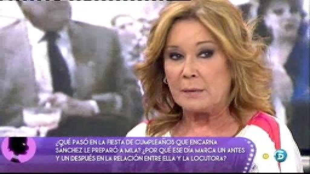 Encarna Sánchez le dijo a Mila que se fuera de España