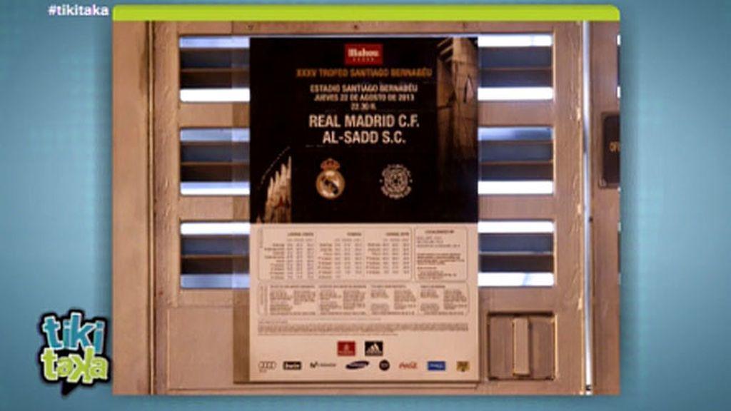 ¿Por qué no aparece Raúl en el cártel del trofeo Santiago Bernabéu?