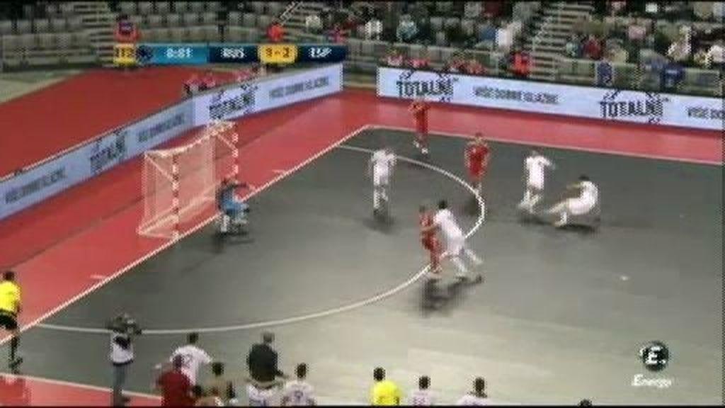 Gol de Kike (3-1) Fin del partido