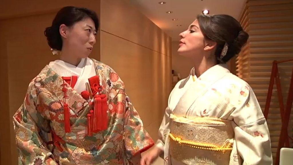 ¡Nos ponemos el quimono!