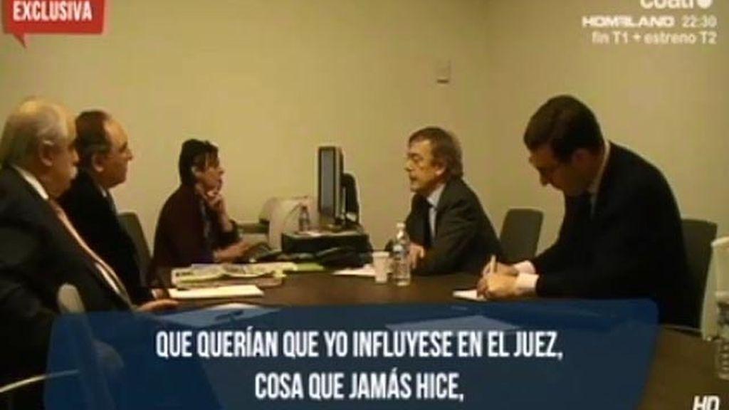 """Trías: """"Pedreira me pidió que le dijera a Mariano Rajoy que le dejara en paz"""""""