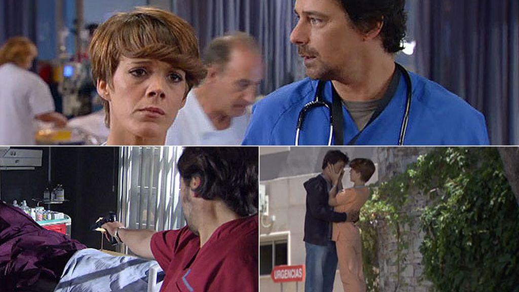 Héctor y Alicia quieren huir