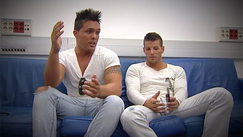 David y Alberto se quedan sin cita