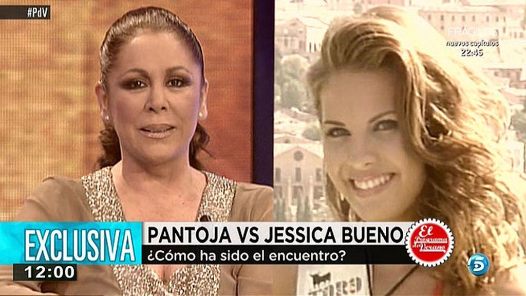 Pantoja le dice a Jessica que si se va a Eibar pedirán que el niño se quede en Sevilla