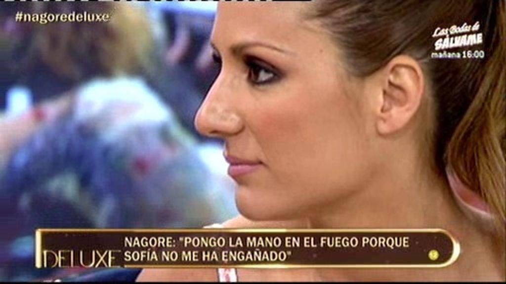 """Nagore: """"No sé si sigo enamorada de Sofía"""""""