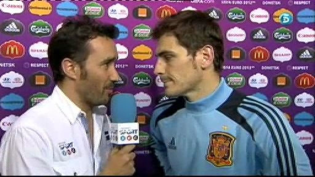 """Casillas: """"Quién nos iba a decir hace cuatro años que iba a pasar esto"""""""