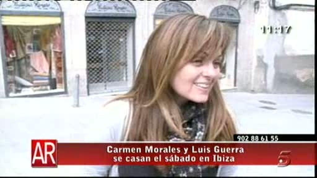Carmen Morales, en capilla