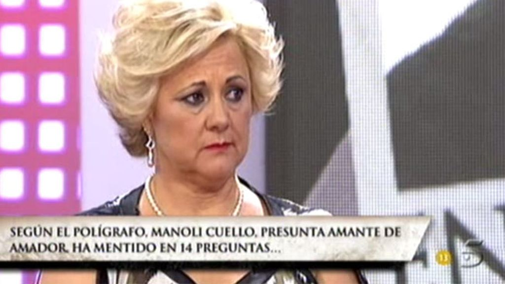 Manoli no se defiende