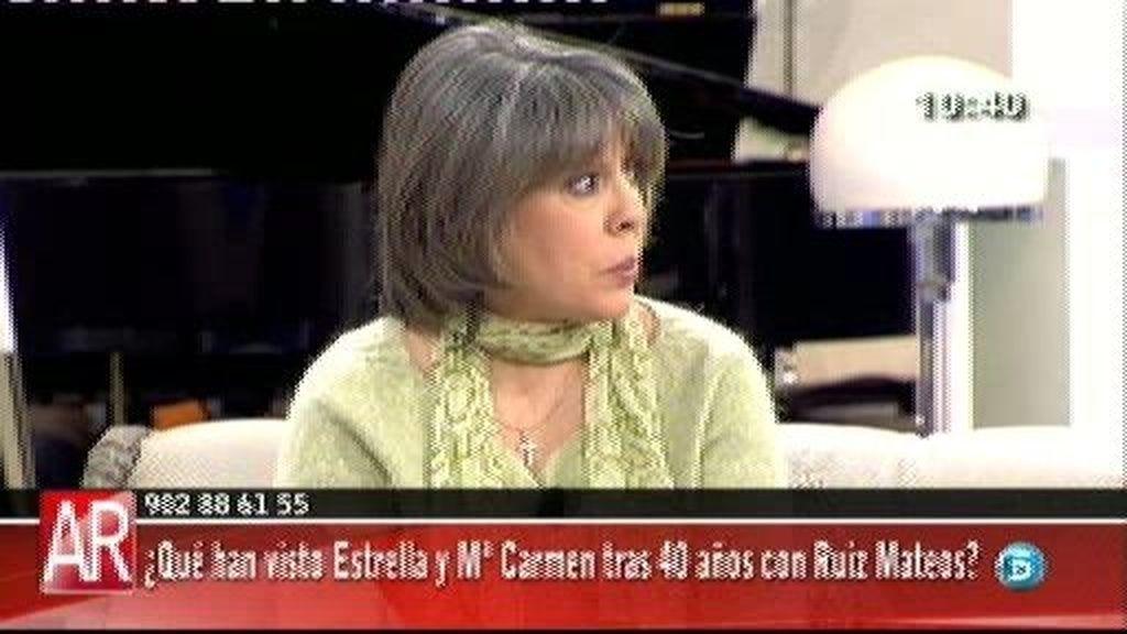 """Estrella Torres: """"Todo lo que he hecho, lo he hecho de mil amores"""""""