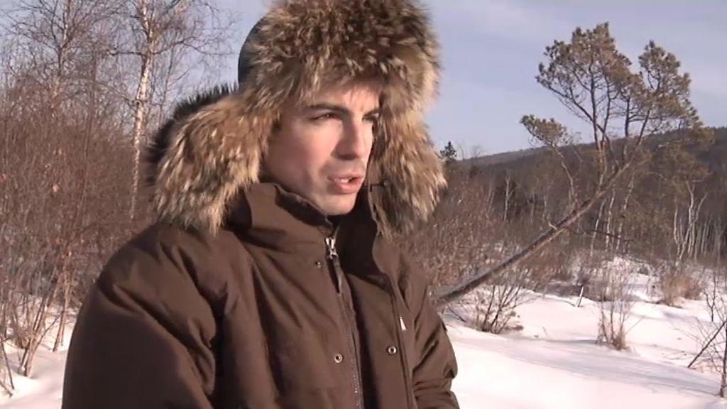 Periodismo bajo cero en el lago Baikal