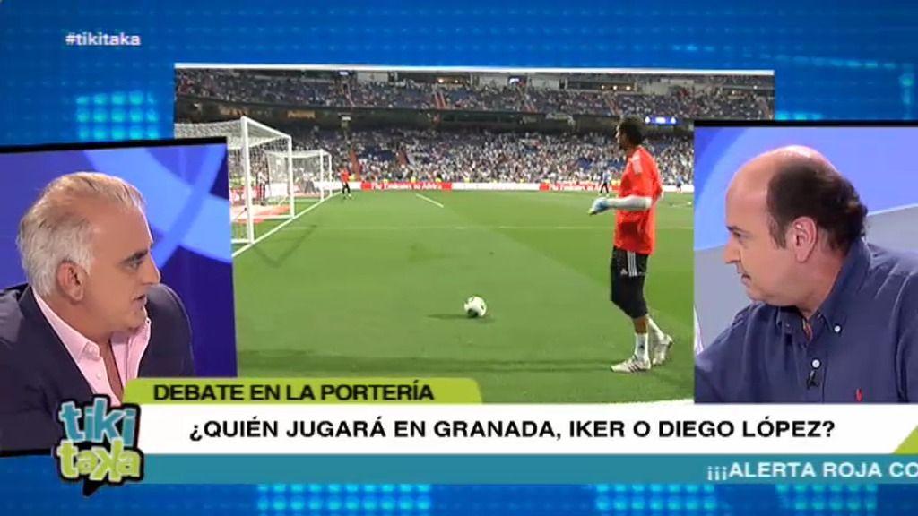 La mesa de Tiki Taka cree que Diego López será titular en Granada