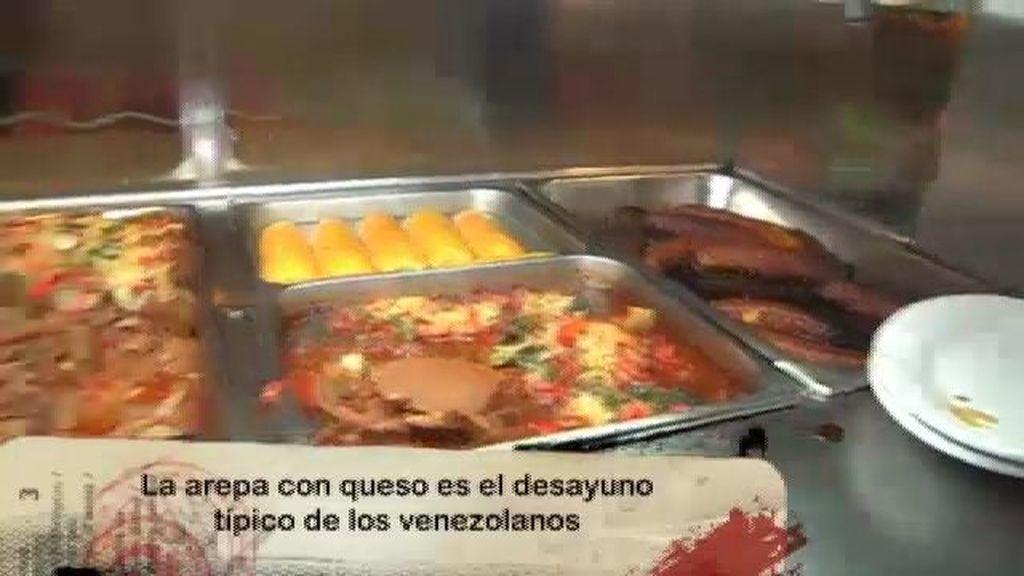La arepa, la comida más típica de Venezuela