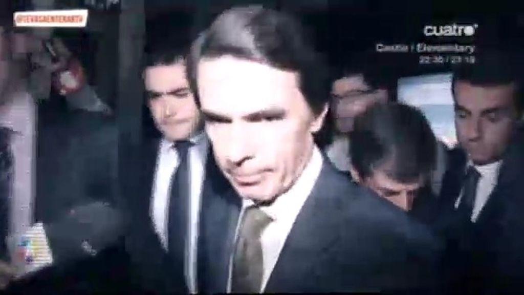 Aznar y Botella, cortados por el mismo patrón
