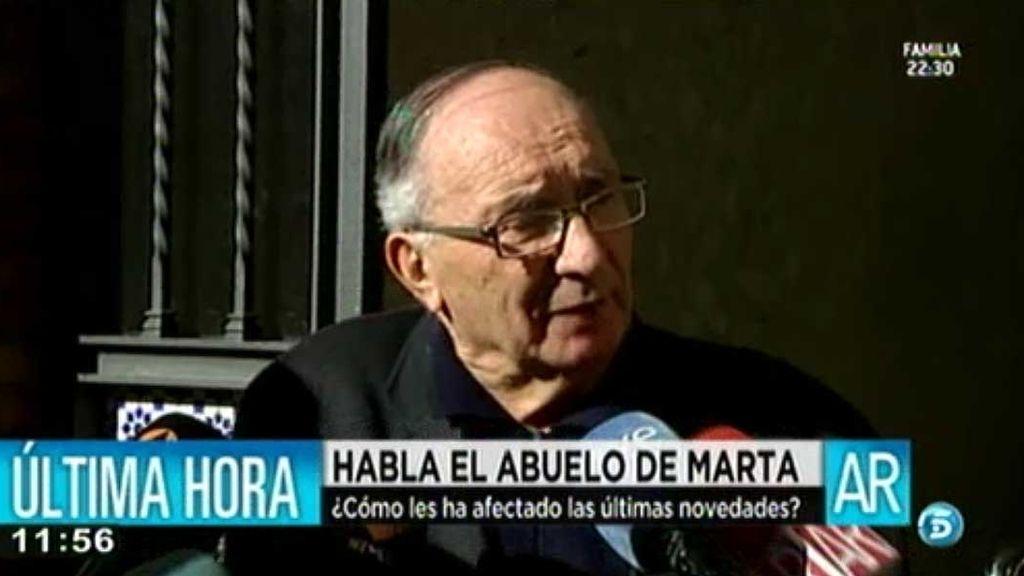 """Antonio, abuelo de Marta del Castillo: """"No es lógico que no se repita el juicio"""""""