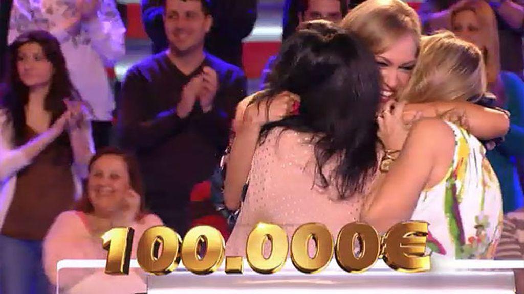 ¡Lorena y Mari ganan 100.000€!
