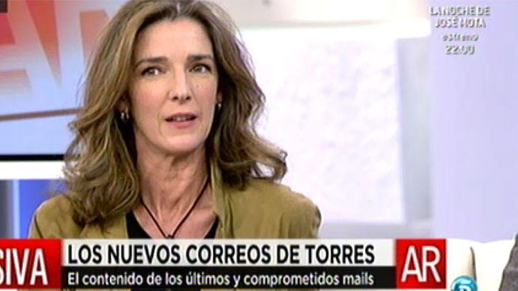 Los correos que podría utilizar Torres tendrían carga sexual, según García Pelayo