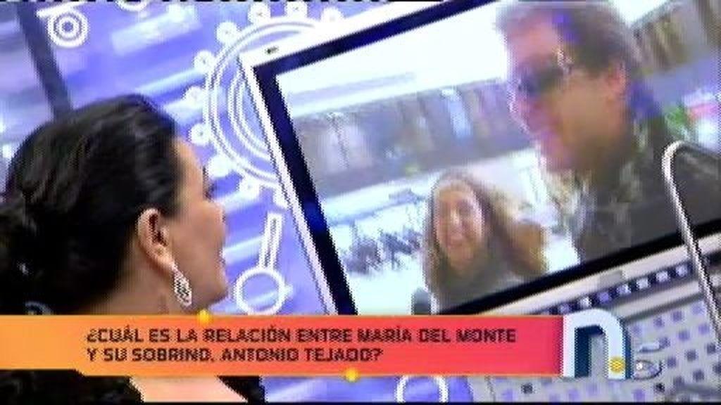"""""""No hablo de mi vida privada, por lo tanto no hablo de mi sobrino, Antonio Tejado"""""""