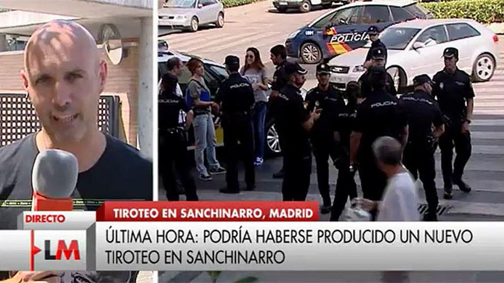Podría haberse producido un nuevo tiroteo en Sanchinarro (Madrid)