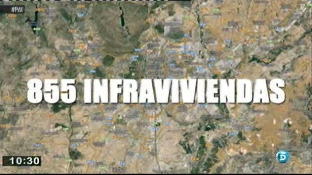 En Madrid existen 855 infraviviendas distribuidas en 32 focos