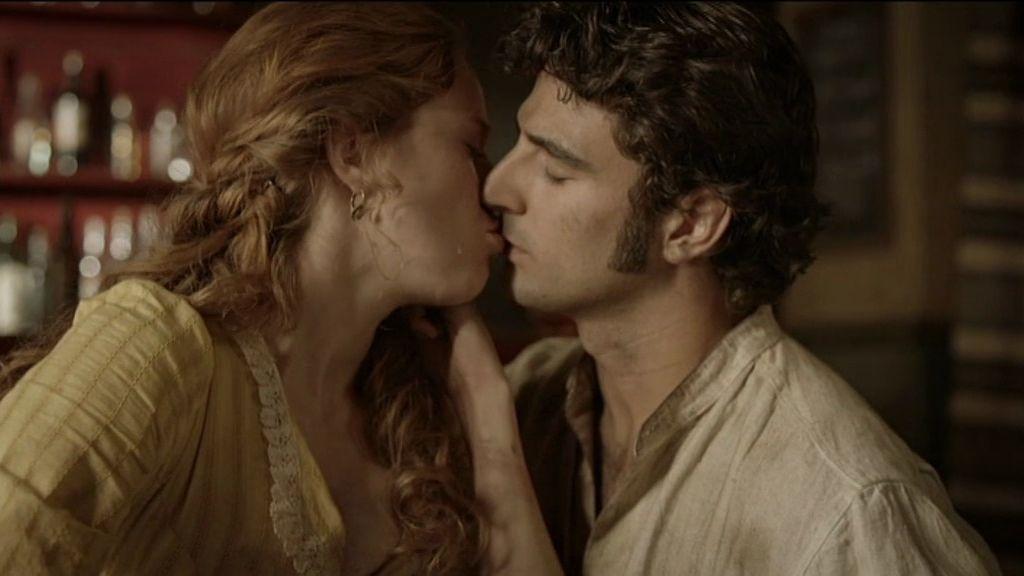 El beso de Aníbal y Elena