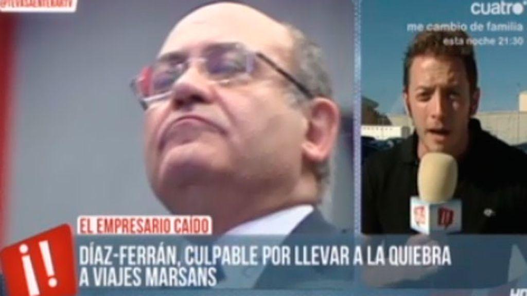 La justicia inhabilita por quince años a Gerardo Díaz Ferrán