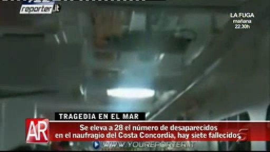 Se eleva a 28 el número de desaparecidos en el naufragio del Costa Concordia