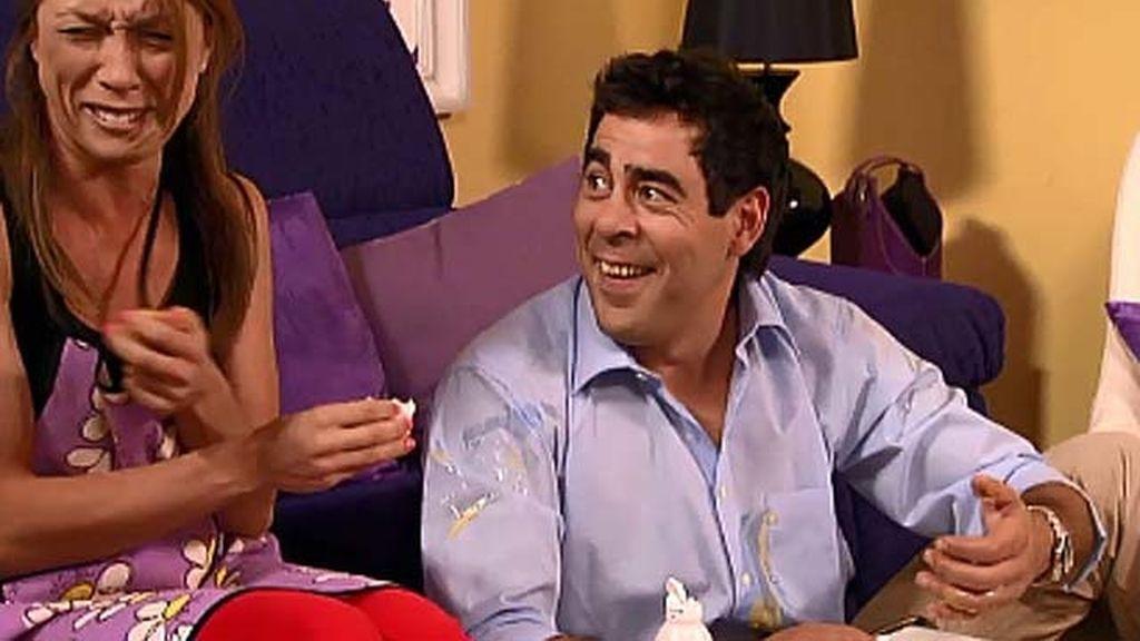 """Eva Isanta: """"Lloro de risa en las secuencias con Pablo Chiapella"""""""