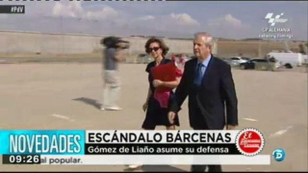 Javier Gómez de Liaño asume la defensa de Bárcenas