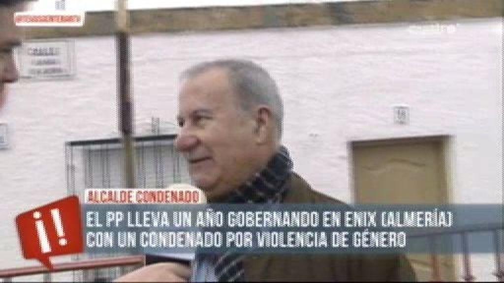 El PP gobierna en Enix (Almería) con un condenado por violencia de género