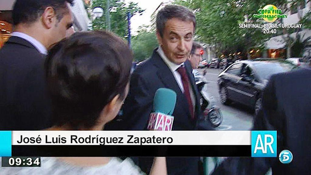 """José Luis Rodríguez Zapatero: """"Siempre hago autocrítica. Por supuesto que se cometen errores"""""""