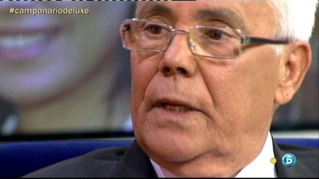 """José Campanario: """"Vengo al Deluxe para explicarme y ayudar a mi hijo en paro"""""""