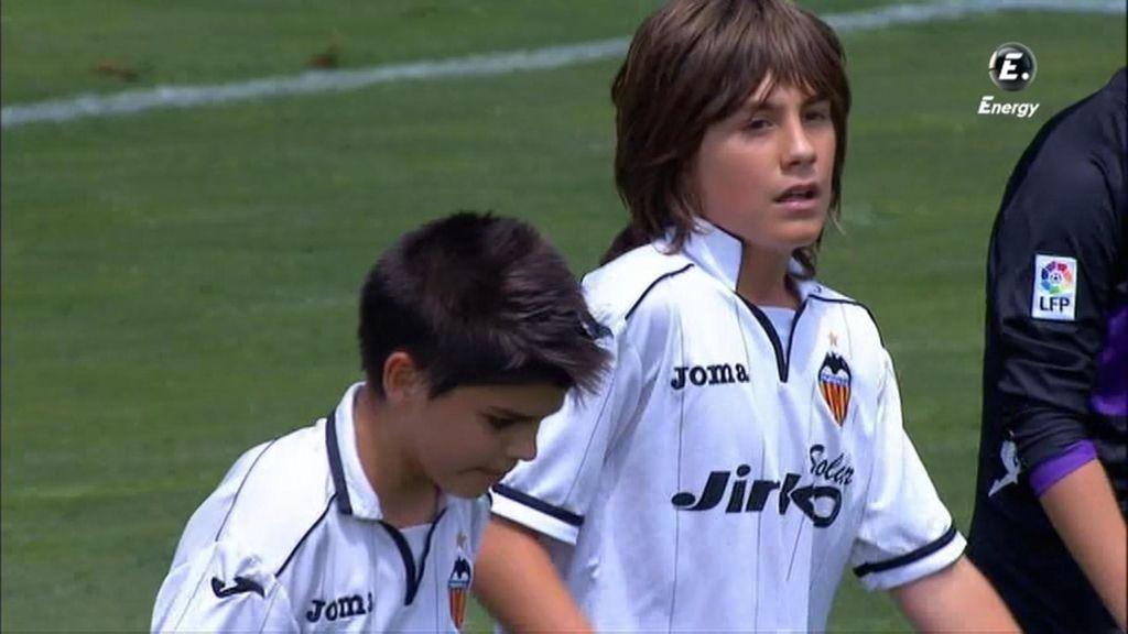 Gol: Valencia 1-0 Valladolid (min. 8)
