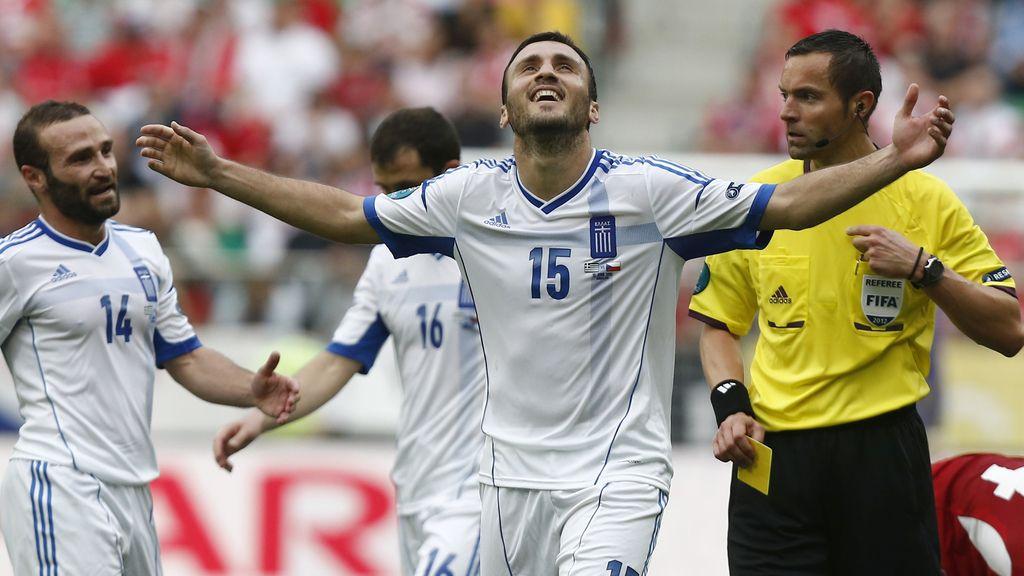 Gol anulado a Grecia
