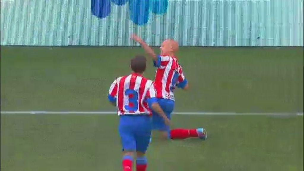 Gol: Atlético de Madrid 2-1 Real Sociedad (min. 15)