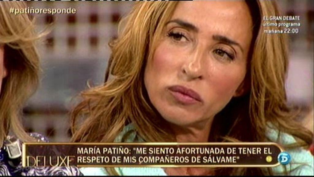 María Patiño responde a los ataques de Miguel Temprano