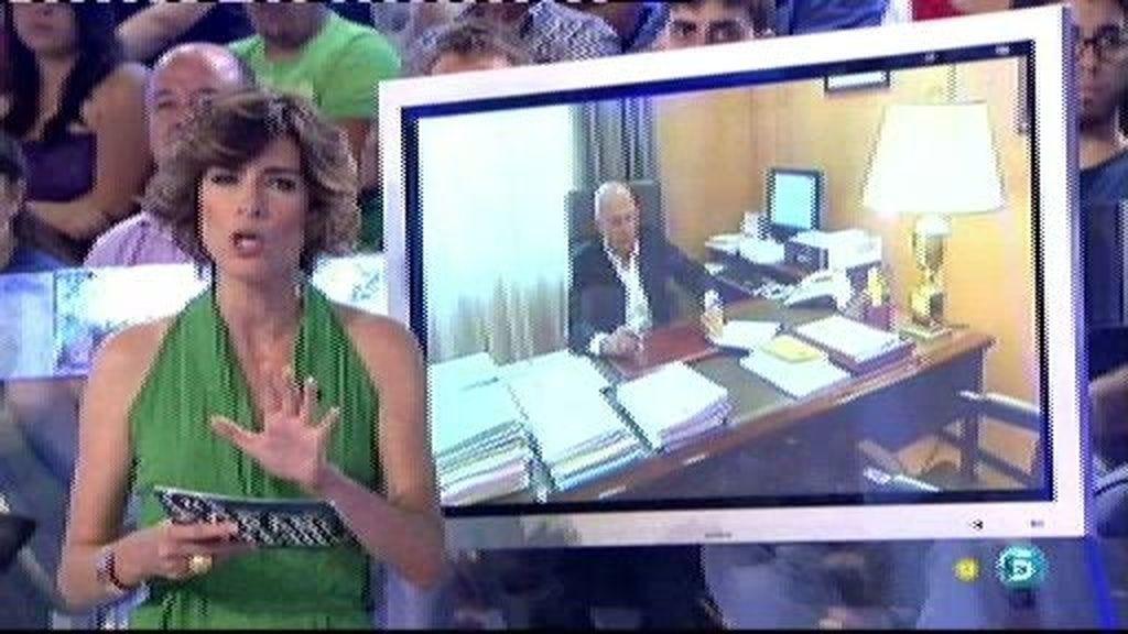 Gómez Benítez no responde a las cámaras