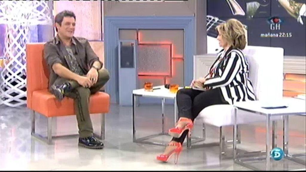 """Alejandro Sanz: """"Yo nunca me he ido y sobre todo España nunca se fue de mí"""""""