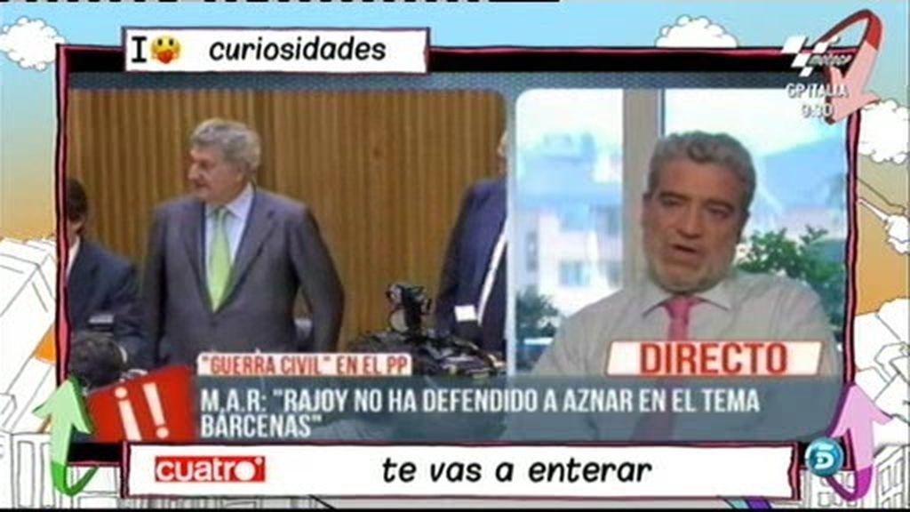 """Miguel Angel Rodríguez: """"¡Y una porra volvería con Aznar!"""""""