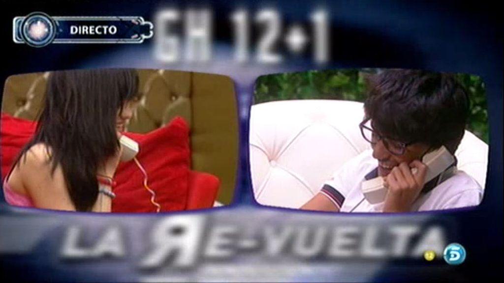 Dani y Marta hablan por teléfono