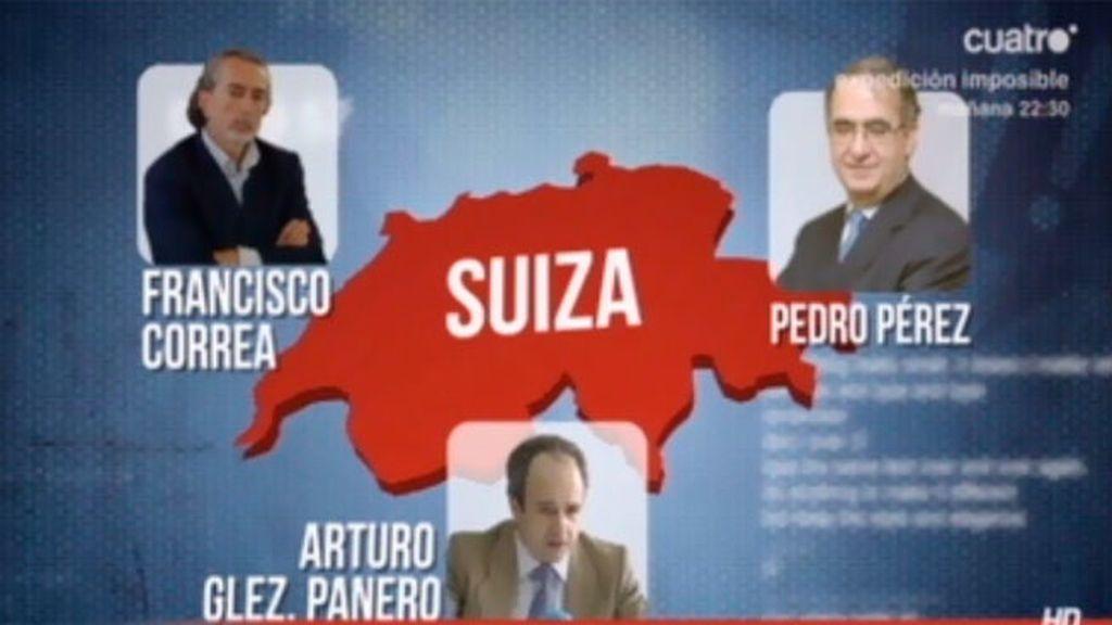 Correa, Arturo González Panero y Pedro Pérez comparten una cuenta en Suiza