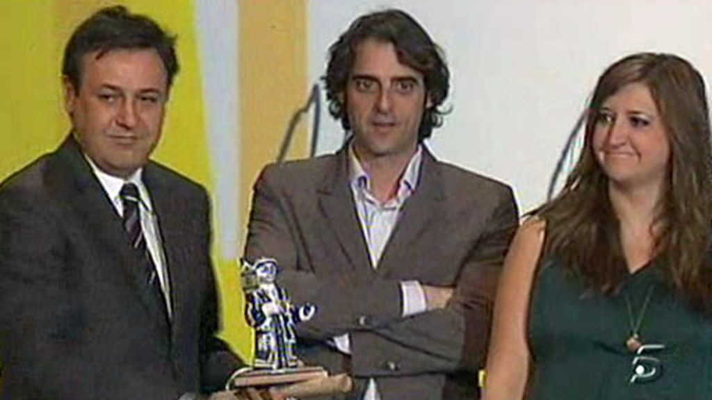 Informativos Telecinco, premiado